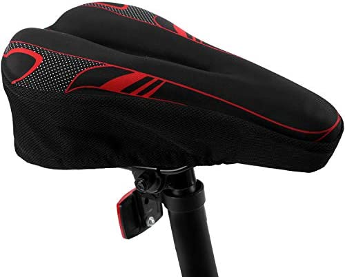 Bike Seat Cover Bicycle Saddle Cushion with Memory Foam for Women Man Kids to Ride on BMX Confort product image