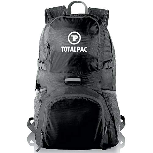 Totalpac - Hiking Daypack – Foldable Backpack for Traveling, Hiking & Camping