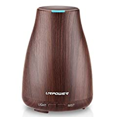 URPOWER New Version: The URPOWER Ultrasonic Aroma Essential Oil Diffuser is an upgraded version. The 2nd generation produces more mist than old version. An ideal way to add moisture to small bedrooms, hotel rooms, tabletops and even workplace cubicle...