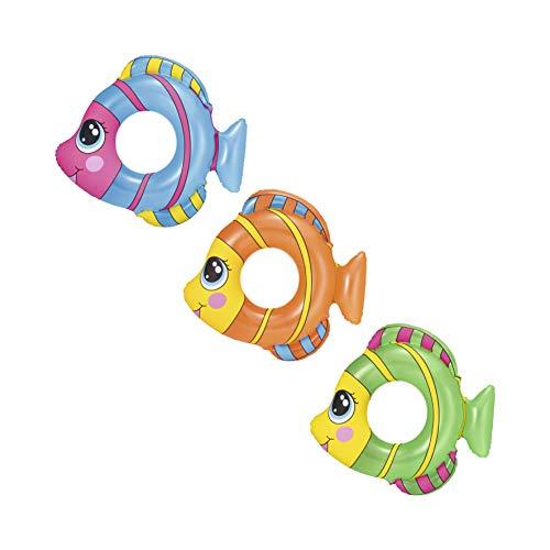 Bestway Zwemring, Happy Fish, 3-6 jaar, 81 x 76 cm, gesorteerd