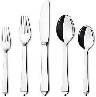 Georg Jensen Pyramid 5-piece Steel Cutlery Set