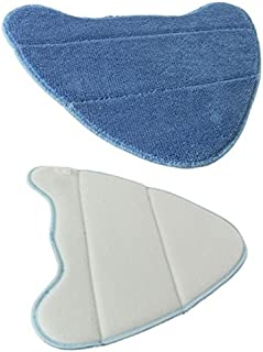 Spares2go Microfibre Cleaning Pads For Vax S7 S7-A S7-A+Total Home Duet Master Steam Cleaner Mops