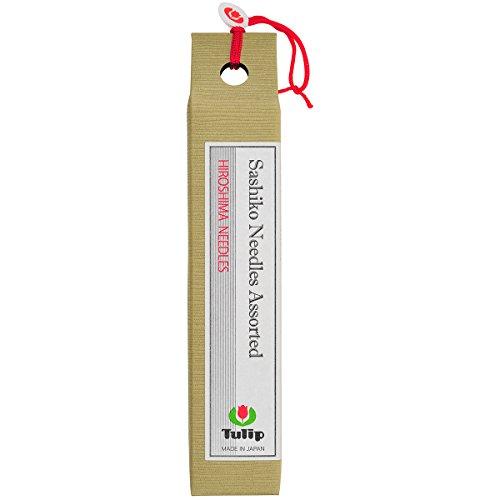 Sewline Tulip Lange Sashiko-Nadeln, Sortiert, 6Stück