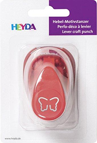 HEYDA motiefperforator paard, klein, kleur: rood
