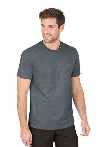 Trigema Herren 639202 T Shirt, Grün(oliv-c2c), L EU