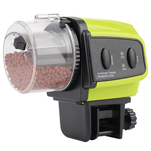 Hangarone Distributeur automatique de nourriture pour poissons pour aquarium, convient à tous les types de poissons 100 ml