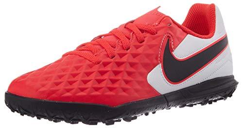 Nike Legend 8 Academy IC, Scarpe per Calcetto a Cinque Unisex-Bambini, Laser Crimson Black White, 34 EU