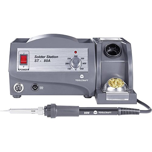 TOOLCRAFT ST-80A Lötstation analog 80 W +150 bis +450 °C