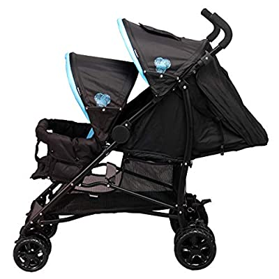 Bambisol Canne Double negro turquesa