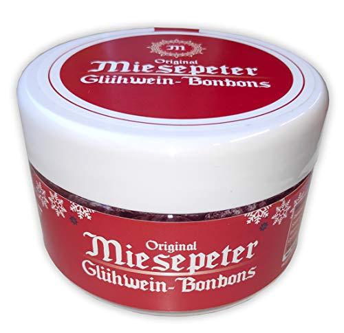 Miesepeter Glühwein-Bonbons - lustige Wichtelgeschenke Weihnachten | witzige Geschenkidee | kleine Weihnachtsgeschenke | (Dose (135g)