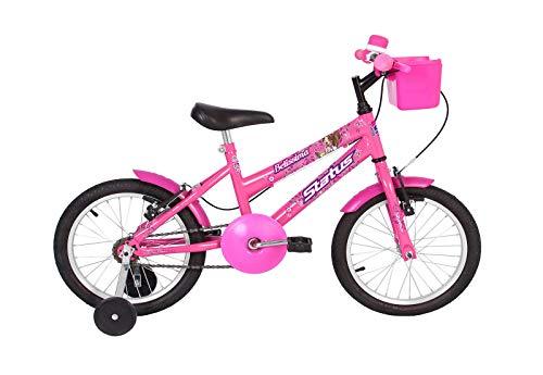 Bicicleta Infantil aro 16 Status Belíssima (Rosa)