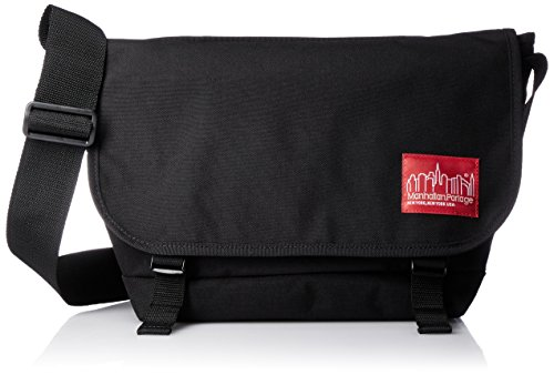 [マンハッタンポーテージ] 正規品【公式】 Buckle NY Messenger Bag JR 【Online Limited】 メッセンジャーバッグ MP1606JREC Black