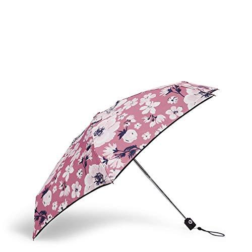 Vera Bradley Women's Mini Travel Umbrella, Strawberry Grand Garden, One Size