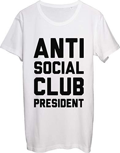 Anti Social Club President - Camiseta para hombre