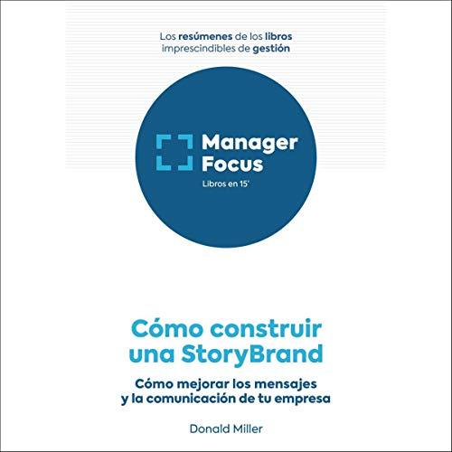 Diseño de la portada del título Resumen de Cómo construir una StoryBrand de Donald Miller