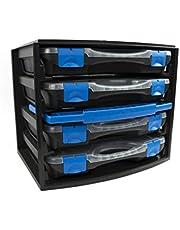 Tayg 301551 Multibox con 4 estuches con separadores móviles 22, 335 x 250 x 275 mm