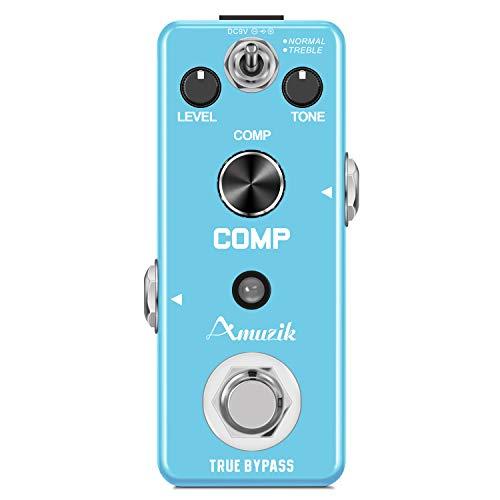 Amuzik Guitar Comp Effect Pedals Compressor Pedal Ultimate