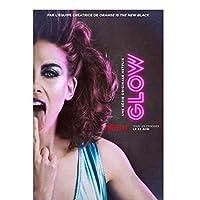 GLOWTV-キャラクターカバーポスター絵画キャンバスウォールアートキャンバスに印刷リビングルームの装飾の写真家の装飾50x70cmフレームなし