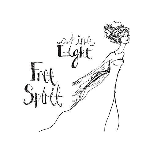 Spellbinders JDS-017 Free Spirit from Artomology by Jane Davenport Clear Stamp Set