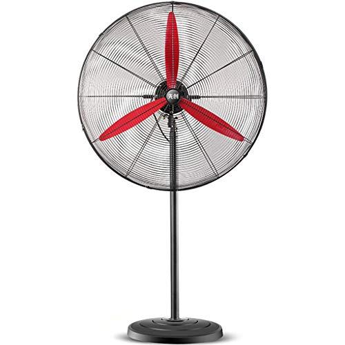 Ventilador Industrial Wilk Abanico De Pedestal Negro | RotacióN Oscilante | 3 Ajustes De Velocidad | ColocacióN En El Suelo | 3 Alturas, Home Office Coolingummer
