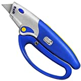 S&R Automatic Carpet Knife 175mm, Folded Knife, Hand Protection. Blade Replacement by Pushing