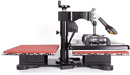 CO-Z Heat Press Machine Professional 360 Swing-Away T-Shirt Press for Shirt,...