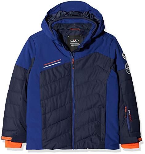 CMP Jungen Skijacke Jacke, Black Blue, 164