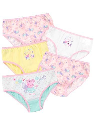 Peppa Pig Girls Underwear Pack of 5 Multicolor Size 4