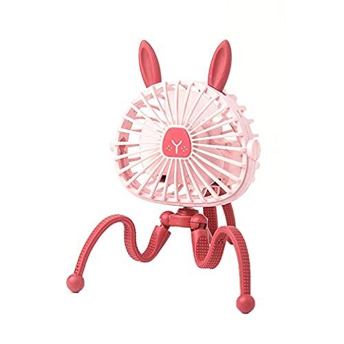 bansd Mini Ventilador eléctrico Colgante Ajustable, Soporte de Pulpo, Ventilador de Mano...