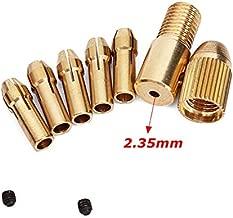 Generic 952211-05 3mm Small Electric Drill Bit Collet Micro Twist Drill Chuck Set