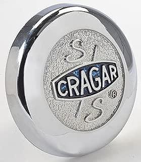 Cragar 09094 Blue Cragar Logo Bolt-On Center Cap