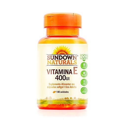 Vitamina E 400UI - 30 Cápsulas, Sundown Naturals, Sundown Naturals
