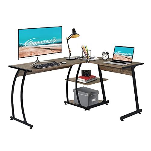 tablero escritorio blanco de la marca FurnitureR