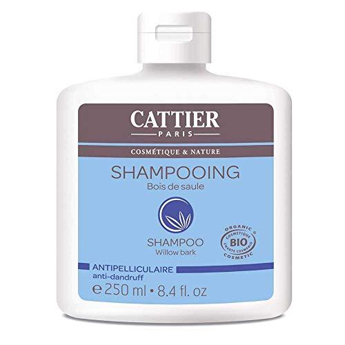 Cattier Anti-Schuppen Shampoo aus Weide, 250 ml, 1 Stück