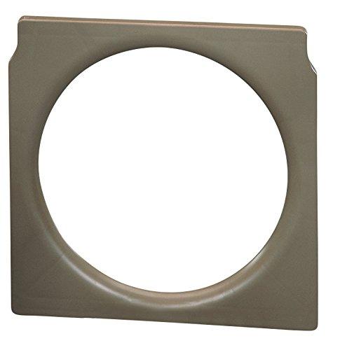 Toilettenstuhl Einsatz aus Kunststoff braun passend für Toilettenstuhl SANILETTE