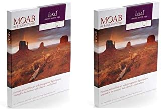 Moab 2 Pack Lasal Photo Matte, Double Sided, Bright White Archival Inkjet Paper, 235gsm, 5x7