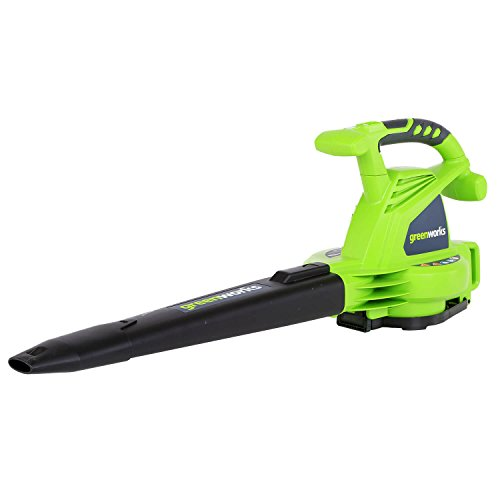 Greenworks 24072 12A 235MPH Variable Speed Corded Blower/Vac includes...