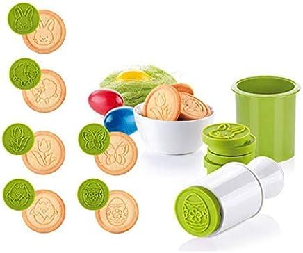 Cartoon Cookie stamps 6pcs//set Moules Arbre de Noël outils gâteau décoration