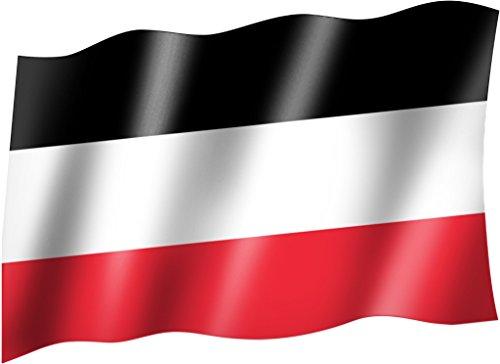 Flagge/Fahne DEUTSCHES REICH KAISERREICH schwarz weiß rot Staatsflagge/Landesflagge/Hissflagge mit...