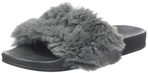 Victoria Sandalia Pala Pelo, Zapatillas para Mujer, Gris (Gris 12), 36 EU
