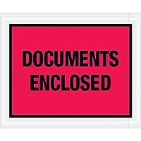 Aviditi PL438 Tape Logic Documents Enclosed Envelopes 4 1/2 x 5 1/2 Red (Pack of 1000) [並行輸入品]