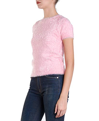 Twin-Set JA83GA - Camiseta de punto con alfileres Rose Cloud L