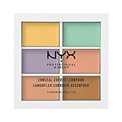 Color correcting concealer palette