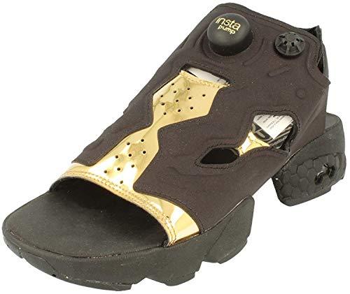 Reebok Instapump Fury Sandal Mag Femmes Running (UK 2.5 US 5 EU 35, Black Gold White BD3184)
