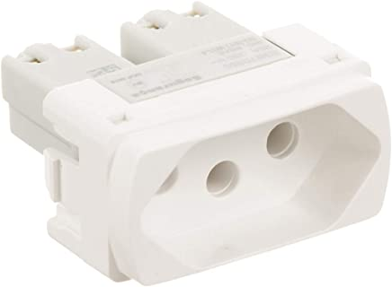 Módulo Tomada 2p+t 20a 1 Módulo Milluz Schneider Electric Branco