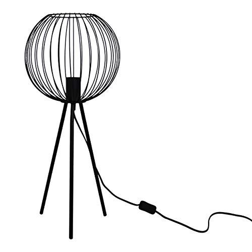 Housevitamin lamp kooi 56 cm - staande lamp - zwart