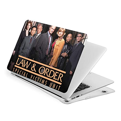 Law & orrder Laptop Case for MacBook Air 13, Plastic Shell Protector Cover Hard Case for Apple touch15