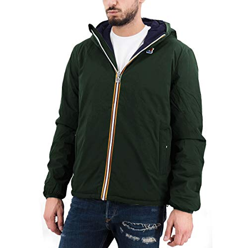 K-Way, Giacca Jacques Warm Double, Verde, Kway_K111JKW A08 - L