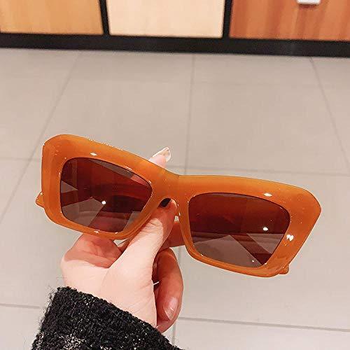 Gafas de sol Vintage con forma de ojo de gato para mujer y hombre, gafas De sol rectangulares Retro, gafas De sol para mujer, gafas Steampunk, Oculos De Sol-4_Universal