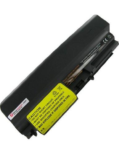 Unbekannt Akku für IBM THINKPAD T400 6473, Hohe Leistung, 10.8V, 6600mAh, Li-Ionen